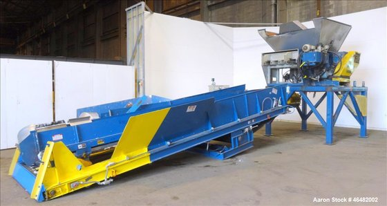 Used- Holzmag Single Rotor Shredder,