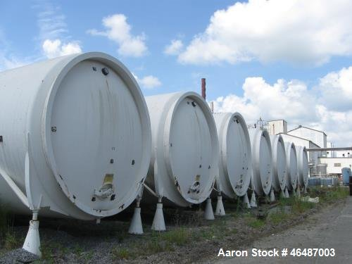 Used- Glass Lined Horizontal Storage