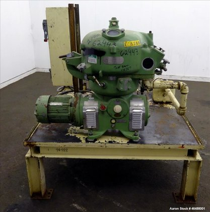 Used- Westfalia Separator Solid Bowl