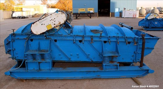 Used- Smico Rectangular Vibratory Screener,