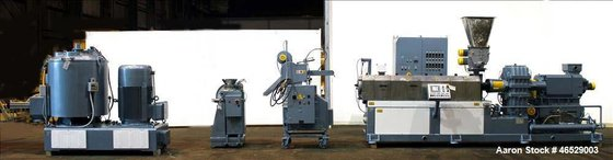 Used- Comac Twin Screw Pelletizing