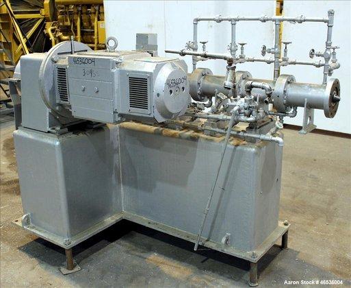 Used- Bonnot Type Extruder, 304