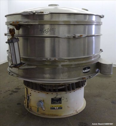 Used- Kason Screener, Model K72-2-SS,