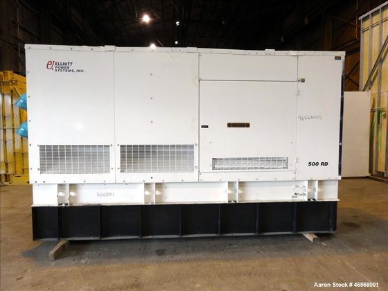 Used- Elliott / Volvo 500kW