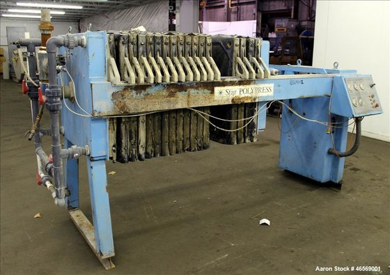 Used- Star Systems Filter Press,