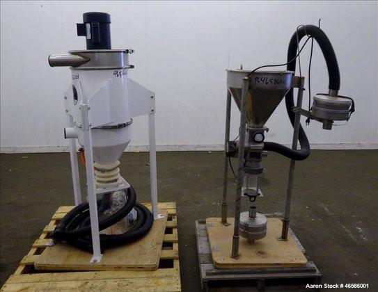 Used- Pelletron Dedusting System, Model