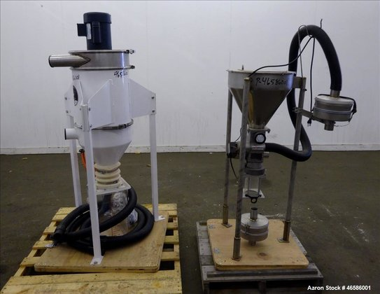 Used- Pelletron Dedusting System, Model