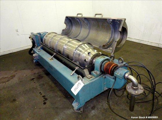 Used- Alfa Laval AVNX-420B-31G Solid