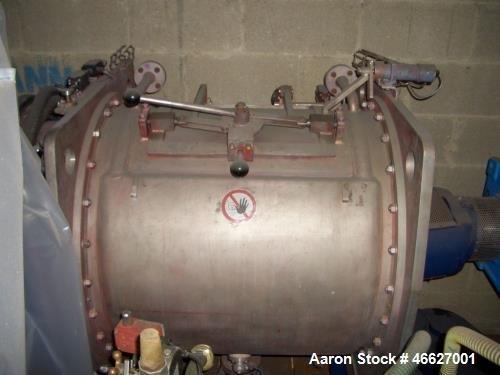 Used- Drais Plow Mixer/Dryer, Type