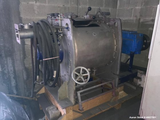 Used- Drais Plow Mixer/Dryer, Type