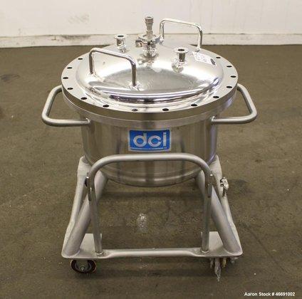 Used- DCI Pressure Tank, 60