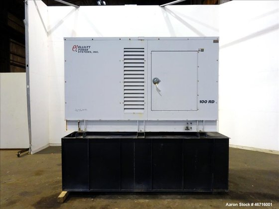 Used- Elliott Power Systems 80