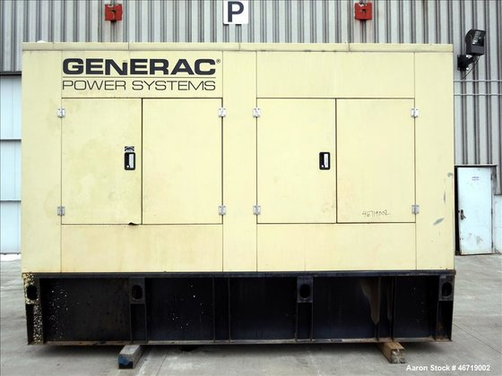 Used- Generac 505 kW standby