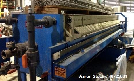 Used- Sperry recessed Filter Press,