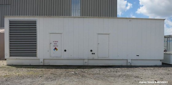 Used- Caterpillar 2000 kW Standby