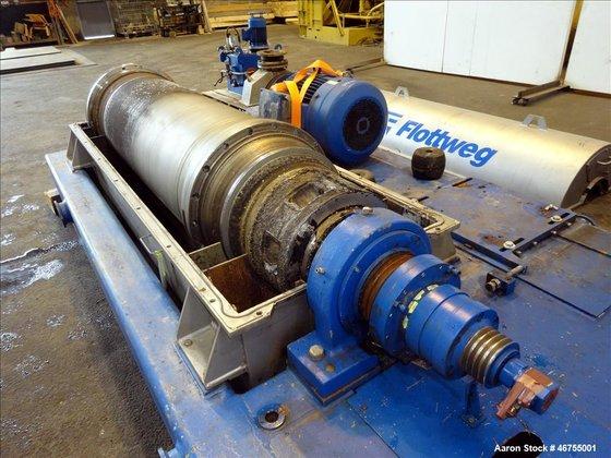 Used- Flottweg Z53/4-454 OSE Solid
