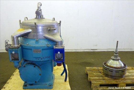 Used- Alfa Laval AFPX-409-BGP-14 Desludger