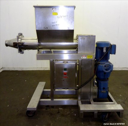 Used- Cheese Extruding Machine, 304