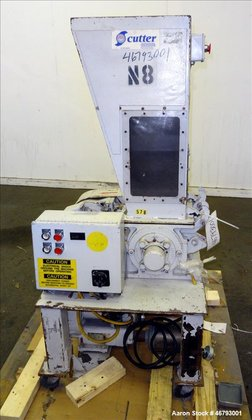 Used- Nissui Granulator, Carbon Steel.