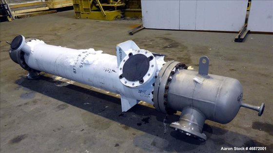 Used- G.E.O. Heat Exchangers Shell