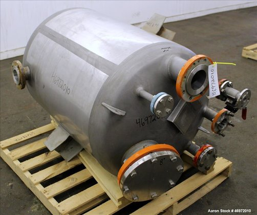 Precision Stainless Tank, 100 Gallons, 316 Stainless Steel