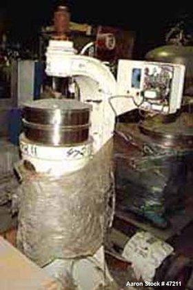 USED: Sharples M-4-P-1E Super Centrifuge