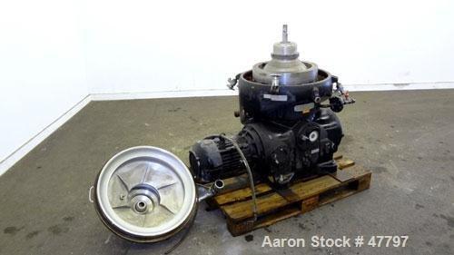 Used- Westfalia SAOOH-4006 Disc Centrifuge.