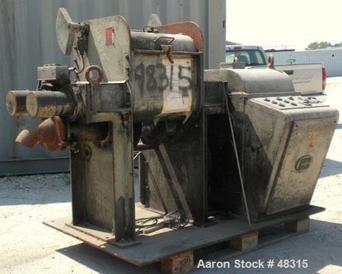Used- AMK Mixer/Extruder, Type VIU-60L,