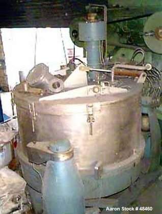 USED: Escher Wyss basket centrifuge,