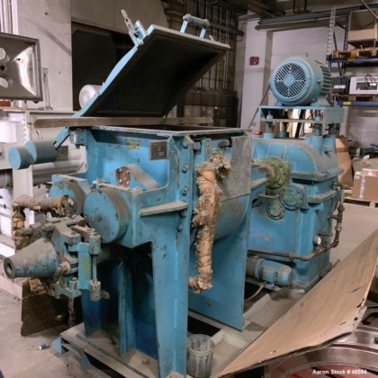 USED: Werner and Pfleiderer mixer/extruder,