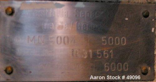 USED: Westfalia MN-5004 solid bowl