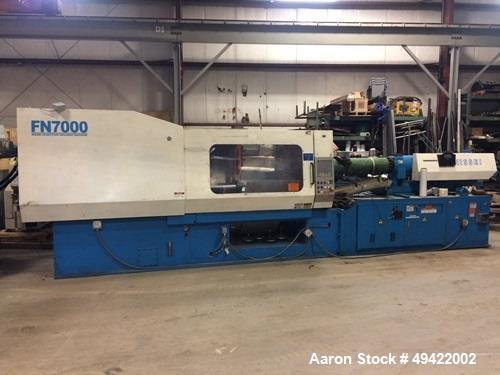 Nissei 400 Ton Injection Molding Machine, Model FN7000-100A  43 oz