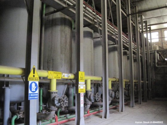 Buzzi-Italy edible/olive oil extraction plant with a