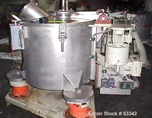 Used- Ellerwerk Perforated Basket Centrifuge,