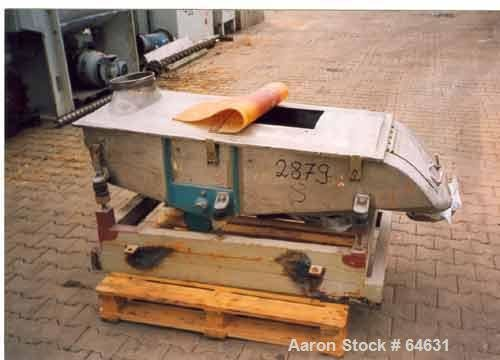 Used- Engelsmann AG Sifter, Type