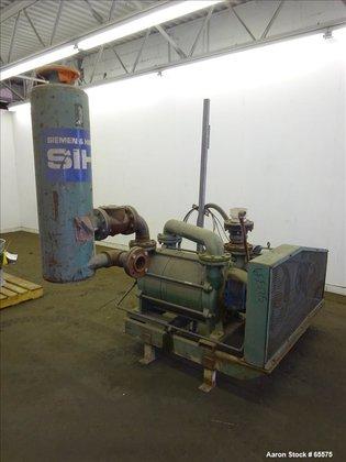 Used- SIHI Vacuum Pump, Model