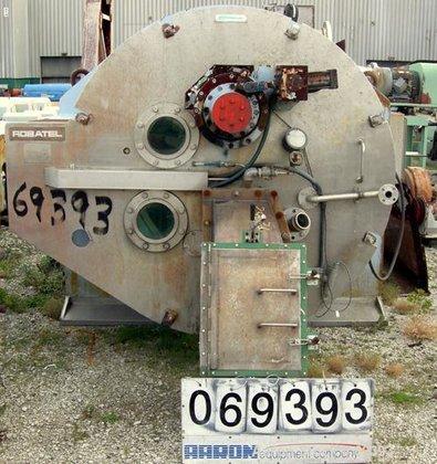 Used- Robatel Peeler Centrifuge, Model