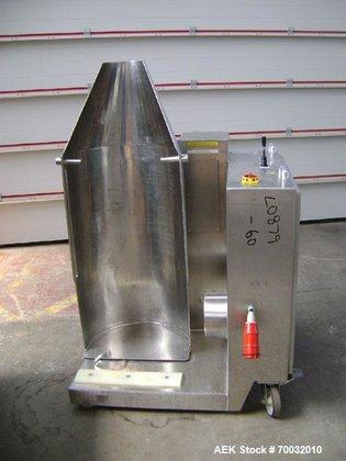 Used- Pharmatech Stainless Steel Drum