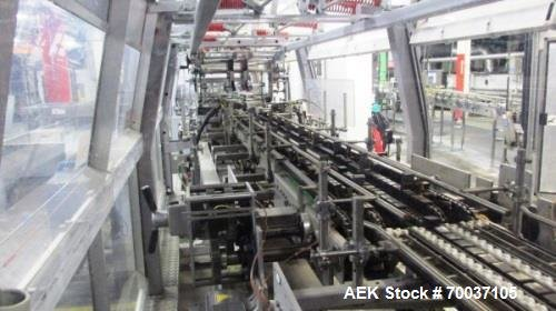 Used-Kisters 80 Cycle Traypacker/Wraparound Casepacker,