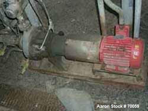 Used- Worthington Centrifugal Pump, Model