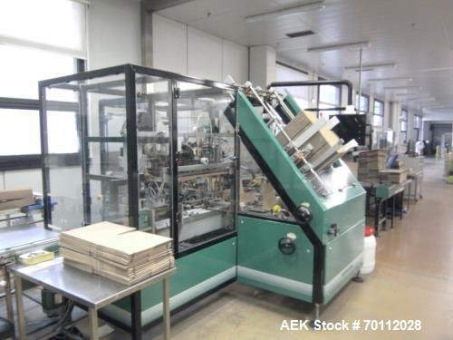 Used- Ixapack Case Packer, Model