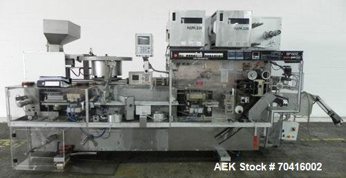 Used- PamPac Model BP-602 Blister