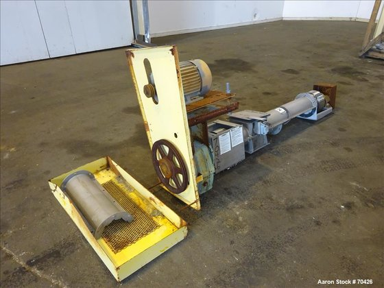 Used- KWS Screw Conveyor, 304