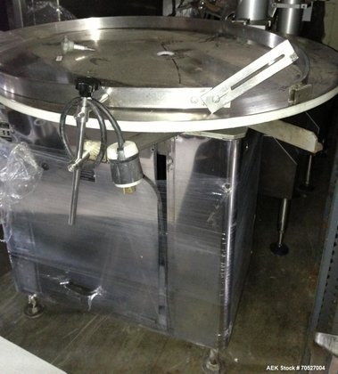 Used-King Rotary Accumulation Table, Model