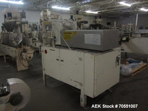 Used-Salwasser Semi-Automatic Case Packer. in