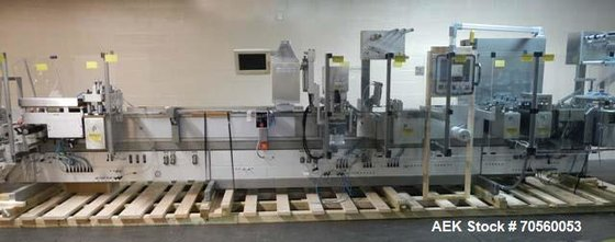 Used- Uhlmann Model UPS41MT Thermoforming