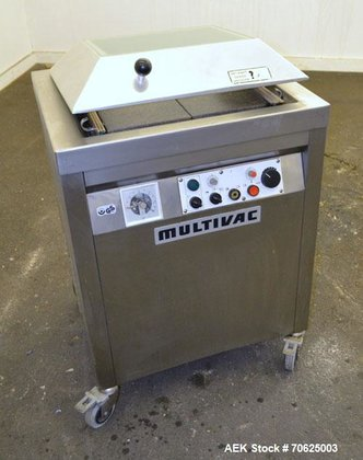 Used- Multivac Model A300/52 Pouch