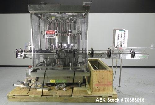 Used- Serac Model DT16C 16-Head