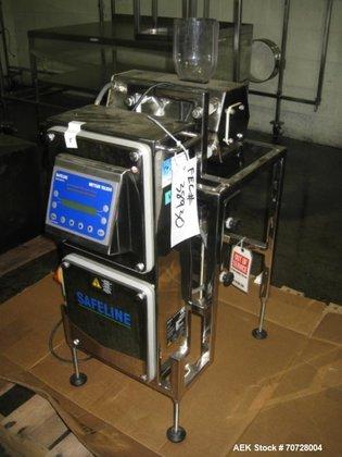 Used- Safeline Metal Detector, vertical
