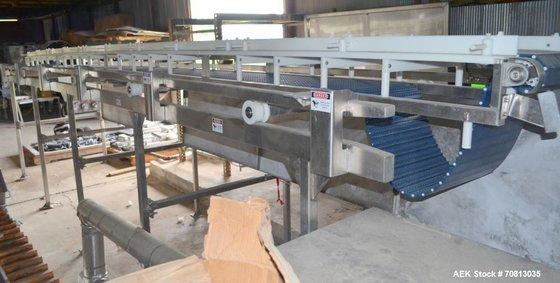 """Used-Safeline Conveyor. Approximately 17 """""""
